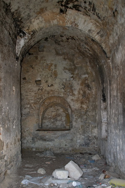 Craco Vero, Basilicata Italia interno casa