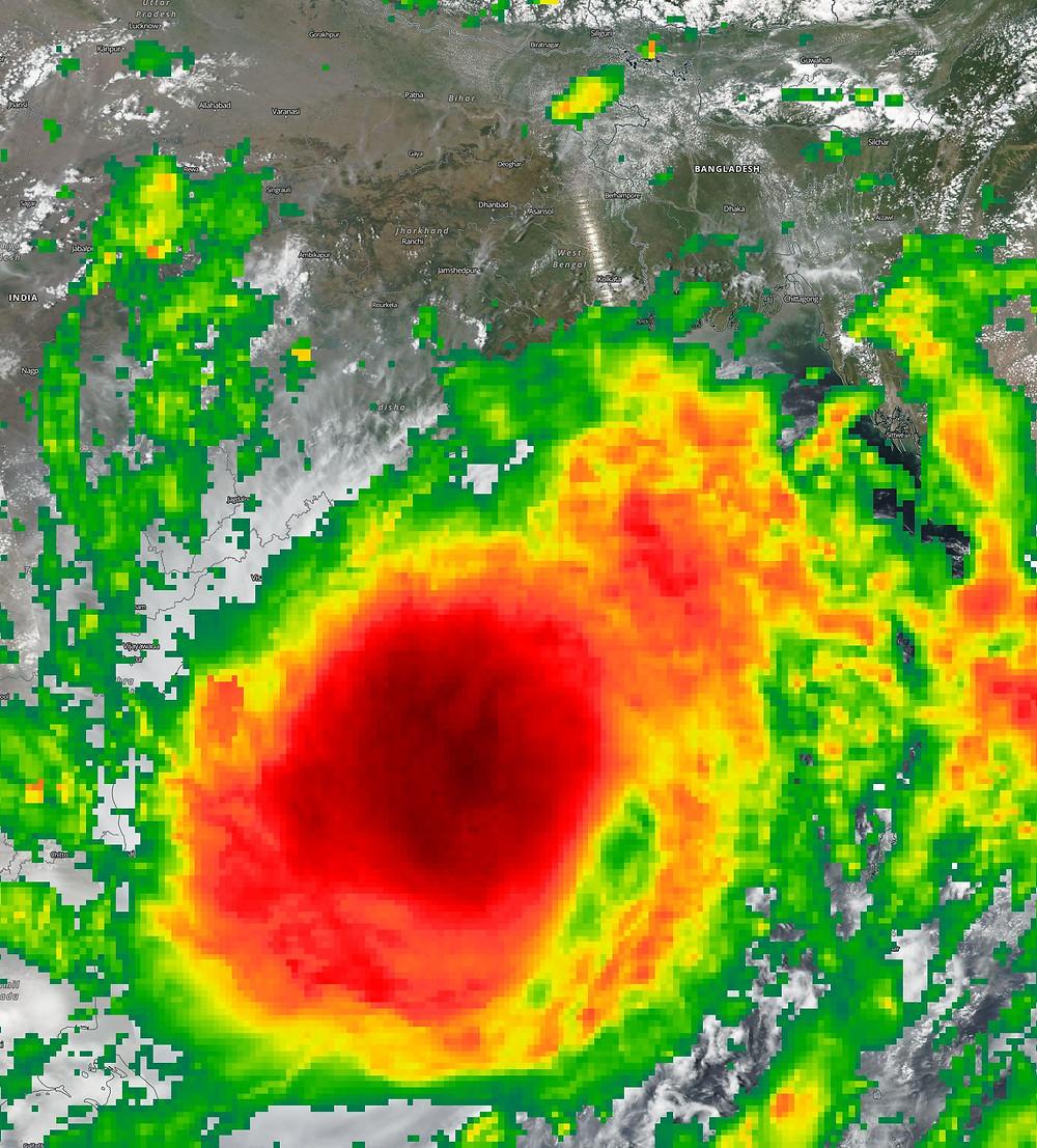 Super Cyclone Amphan May 18 2020
