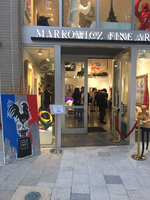 French Heart at Markowicz Fine Art
