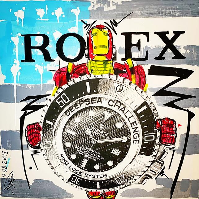 Rolex Iron man