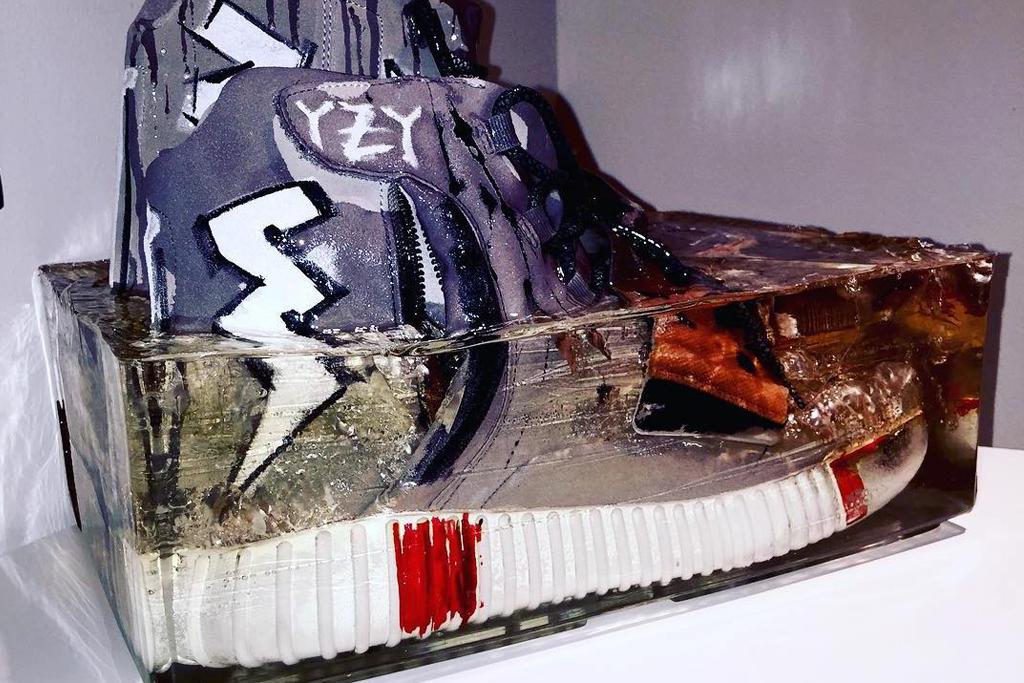 Artik's Adidas Yeezy Boost 750