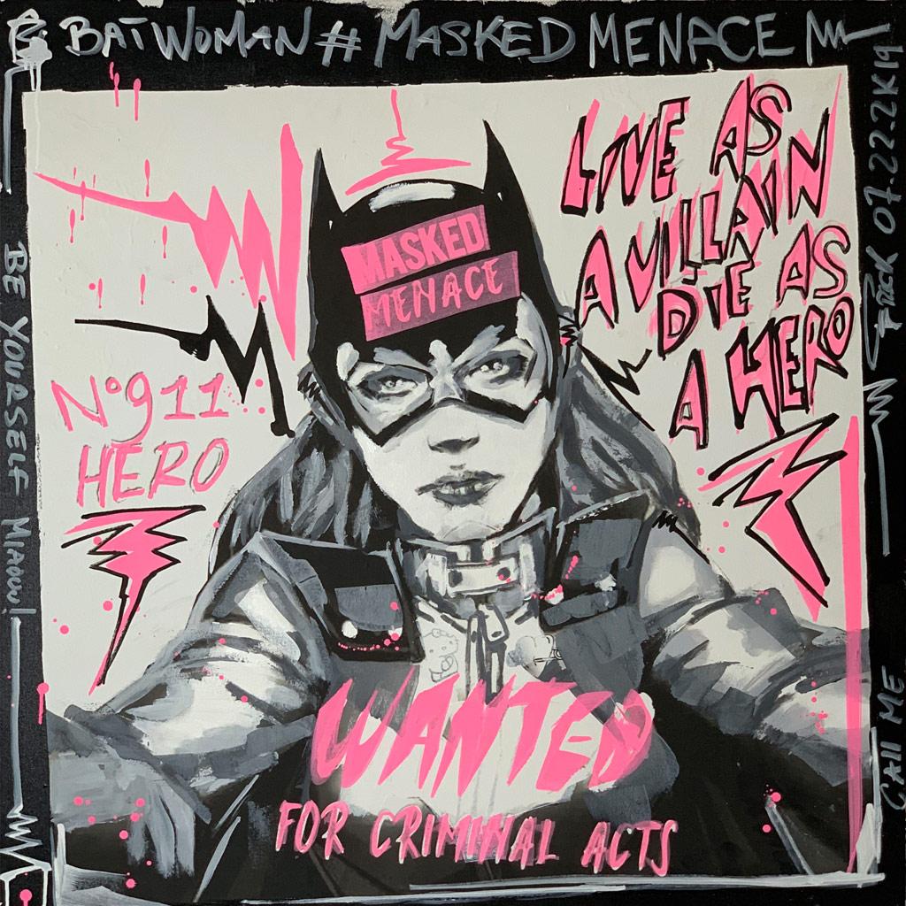 Batwoman Selfie