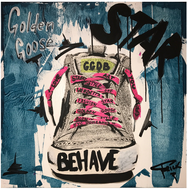 Star Golden Goose