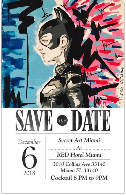 SECRET ART MIAMI 2018 @ RED HOTEL