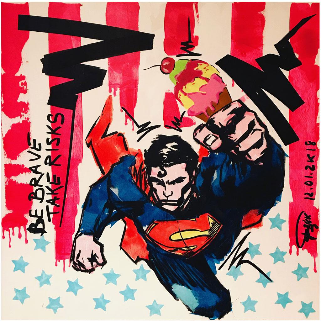 Brave Superman