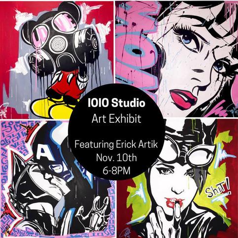 Erick Artik Exhibit @ IOIO Studio in Cleveland