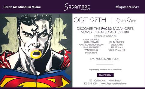 Erick Artik@Sagamore Art Exhibit on 10/27