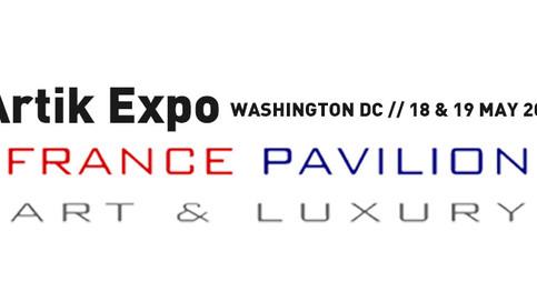 Erick Artik at France Pavilion (Washington DC May 18-19)