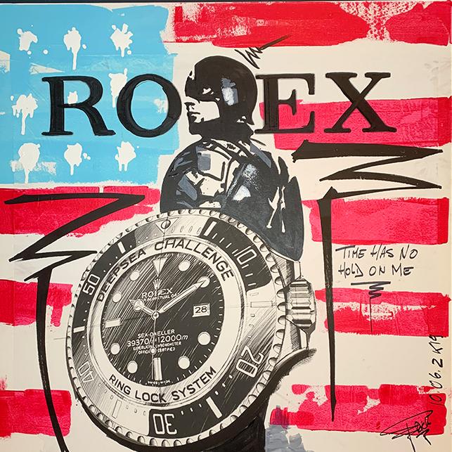 Rolex Captain America