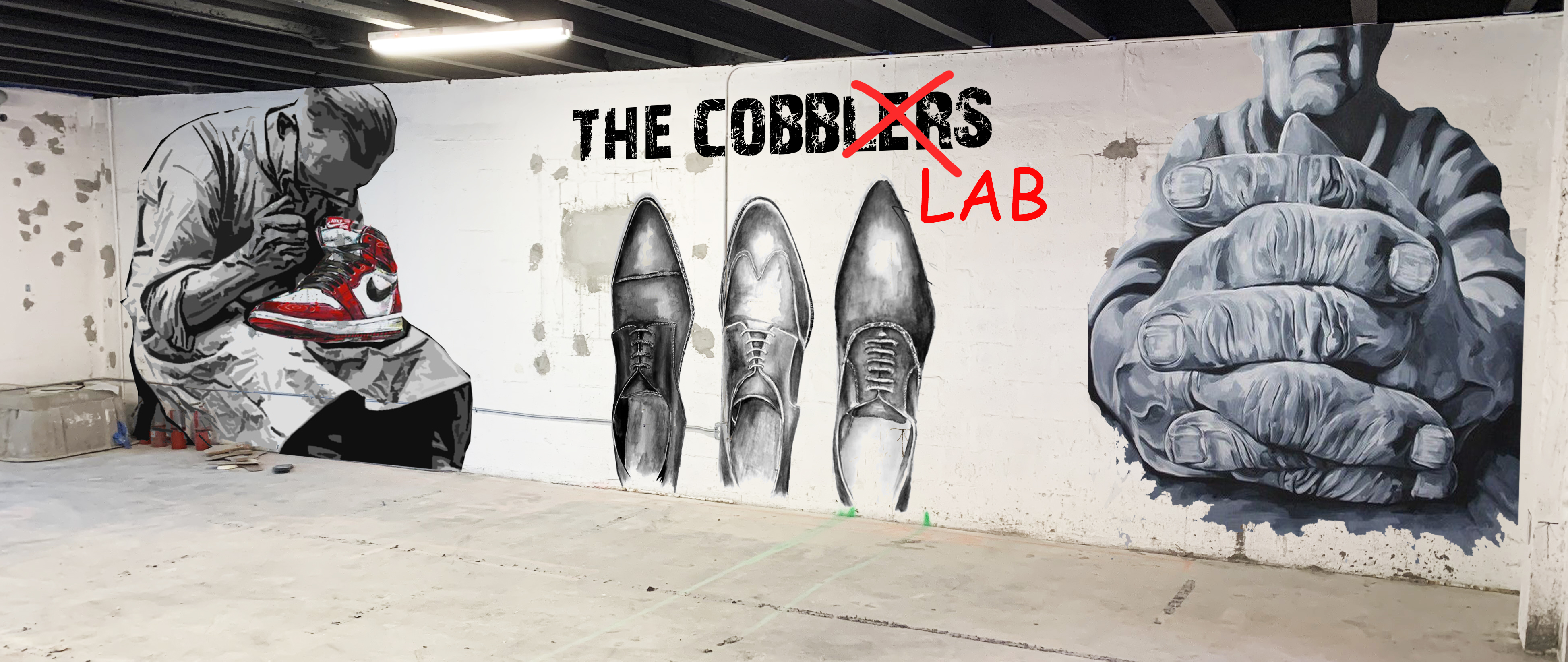 wall cobblers LAB