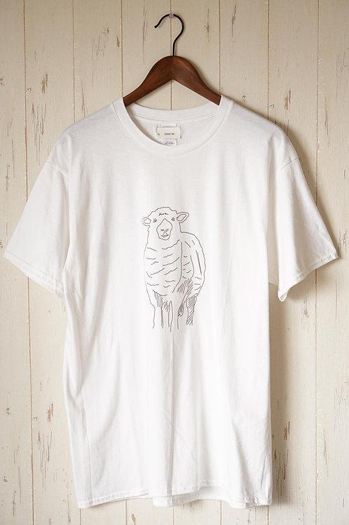 藍坊主/NORM Vo.AG/hozzyがイラストデザインした『羊』をモチーフにしたTシャツ