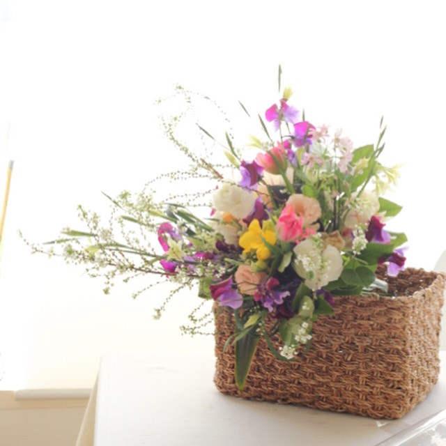 エムズパレットでは、季節のお花のレンタルをしております。