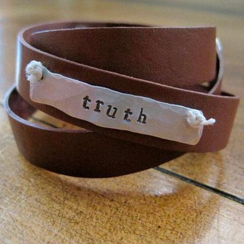 """""""Truth"""" Wrap Bracelet"""