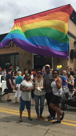 Warren supports the Black LGBTQ Community