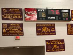 Warren supports Howard High School