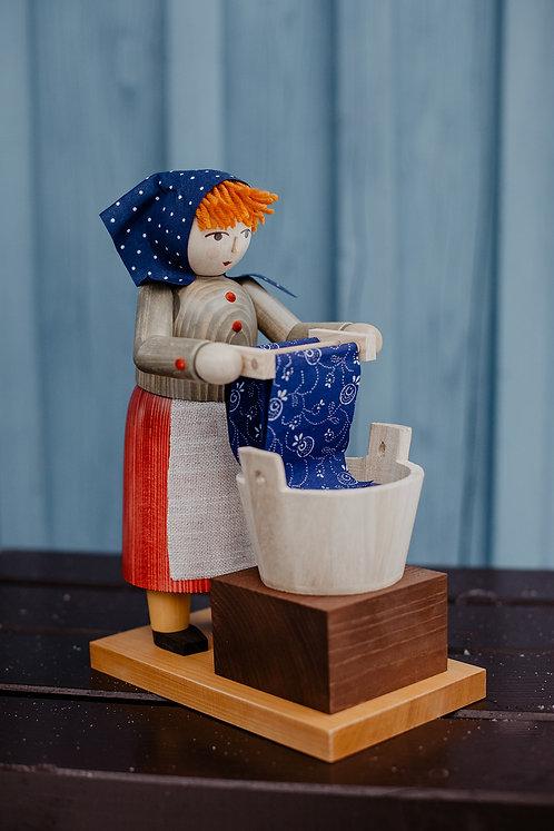 Räucherfrau Blaufärberin