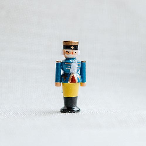 Nußknacker blau