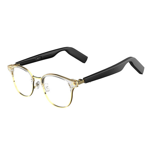 WGP Smart Audio Glasses Steel Clubmaster Frame with Plano lens (1st Gen)