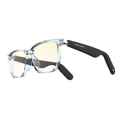 WGP Smart Audio Glasses (2nd Gen) Blue Light Blocking Lens with Black Temple