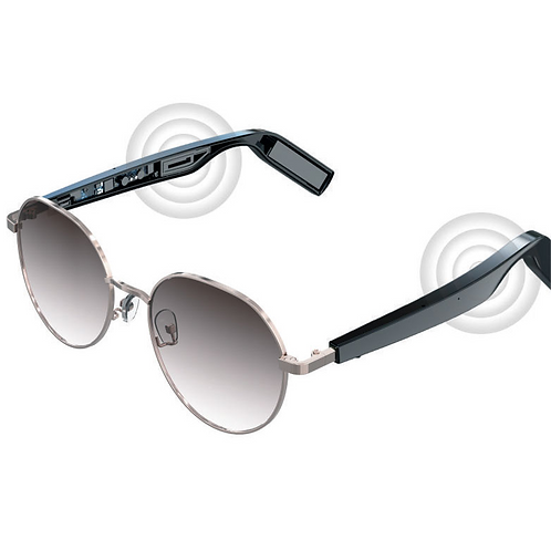 WGP Smart Audio Sunglasses - Neon lens with PC Black Temple (1st Gen)