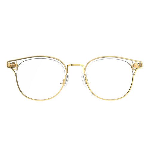 WGP ACE+Steel Clubmaster Frame - Plano lens for 2nd Gen Glasses