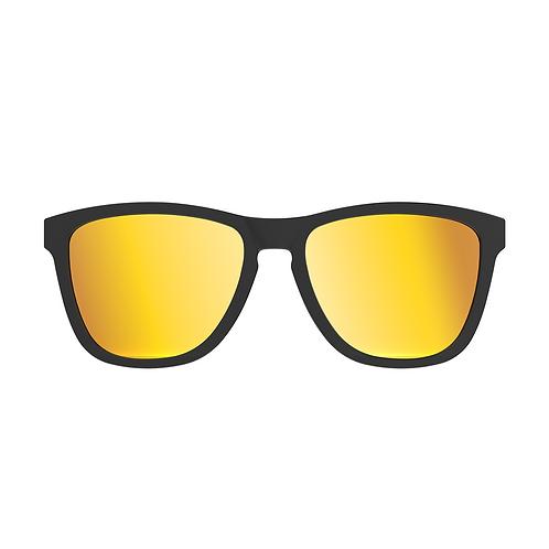 WGP ACE Wayfarer Sport Frame- TAC Polarized for 2nd Gen Glasses - Orange