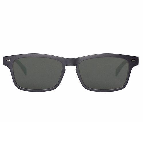Smart Audio Glasses with Polarized Sunglass Lenses Bluetooth Connectivity-Black