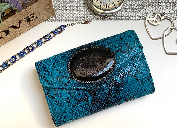 Angelina purse -Snake & ocelot