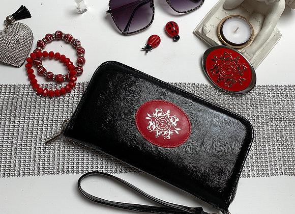 Magical purse - Black & Steel