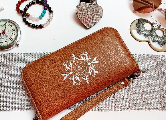 Magical purse - Camel & Bronze