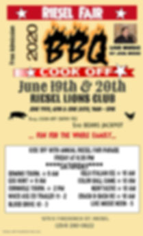 Copy of BBQ COOK OFF - Made with PosterM