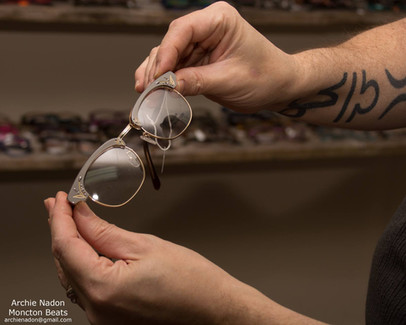 Gallery of some of our prescription eyeframes we carry at off the wall eyewear emporium