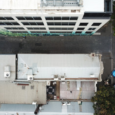 Drone photo, engineering inspection South Melbourne.