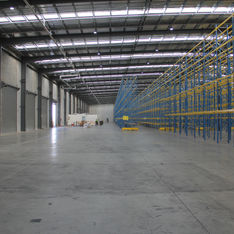 Warehouse, Victoria WestCertified pilot operating inside a logistic centre. Commercial warehouse.