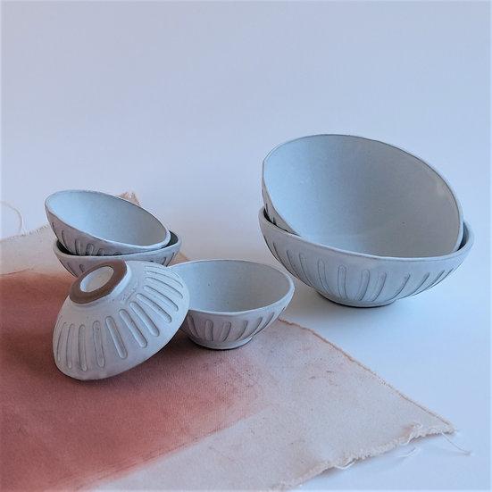 Set of organic Bowls