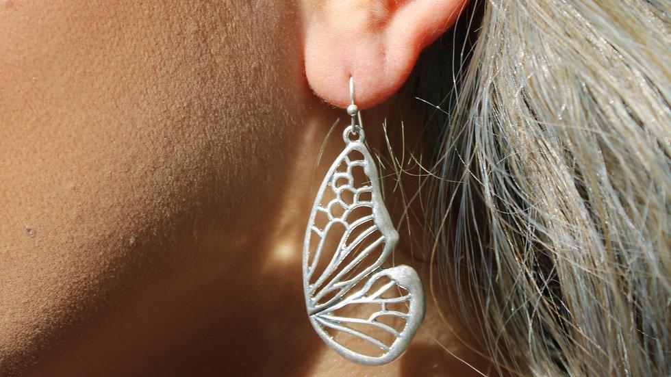 Halfcut Butterfly Earrings