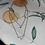 Thumbnail: Blue eye layered necklace