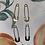Thumbnail: Safety Pin Steel earrings