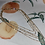 Thumbnail: Rhinestone chain multi necklace