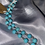 Thumbnail: Country Teal wrap necklace