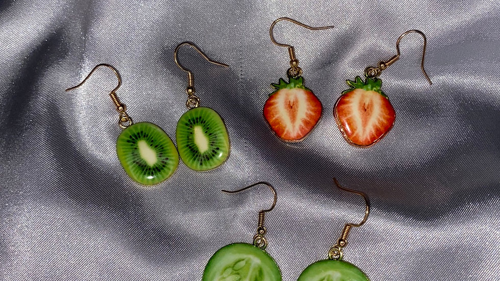 Fruity earrings