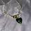 Thumbnail: Pearl and green crystal