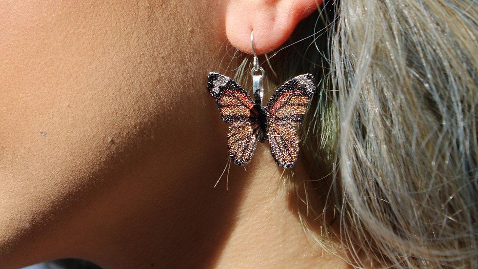 Monarch Butterfly Earring