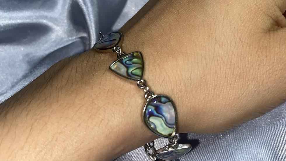 Abalone  Stone Bracelet