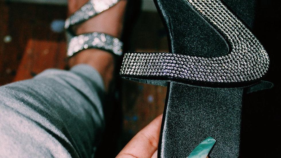 Z-Crystal sandals