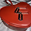 Thumbnail: Blossom red Heart Shape purse