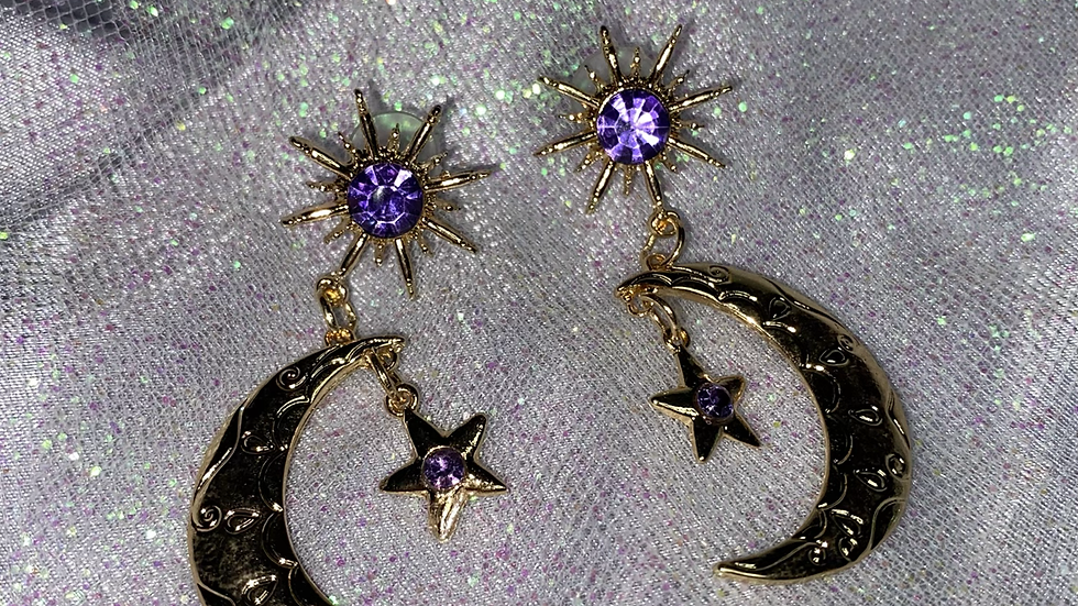 Star and Moon gold