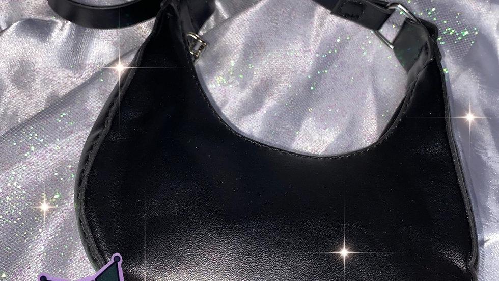 Black chain purse