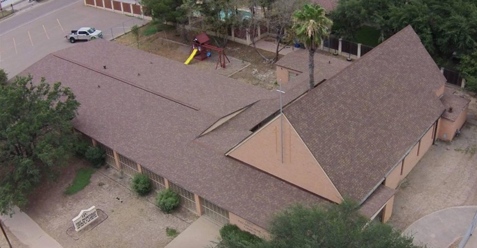 Lifetime Shingle Roof - Church