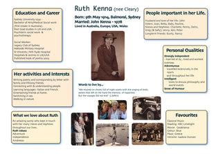 Life Story Profile